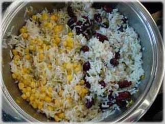 Reis mit Gegenspielern