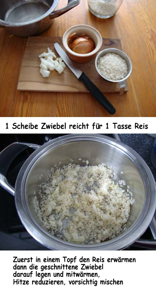 Risotto andersrum