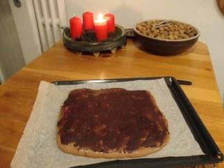 Pfefferkuchen mit Glasur