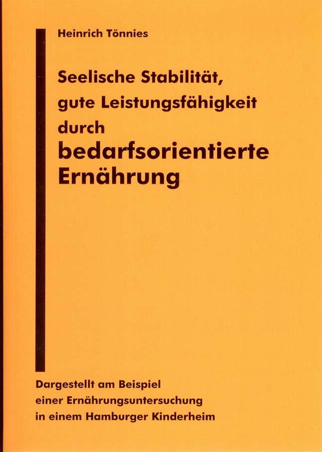 H. Tönnies / Seelische Stabilität als eBook